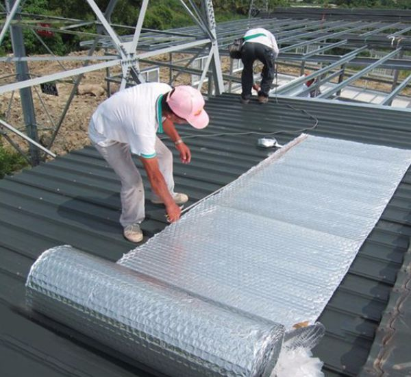 Roof Heat Insulation Services in Pakistan - Heat Proofing